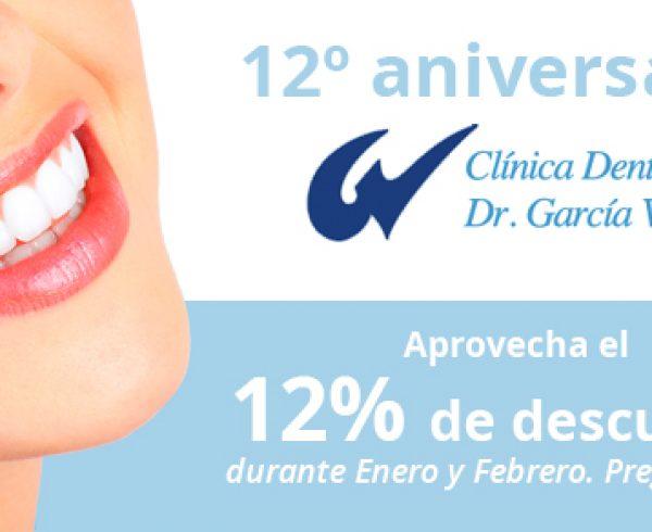 En Clínica Dental García Vega cumplimos ya 12 años 2