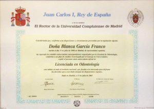 Dra. Blanca García Franco 1