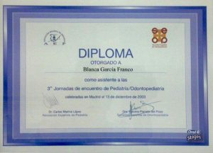 Dra. Blanca García Franco 8