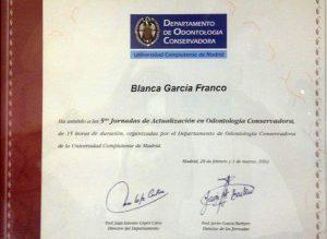 Dra. Blanca García Franco 2