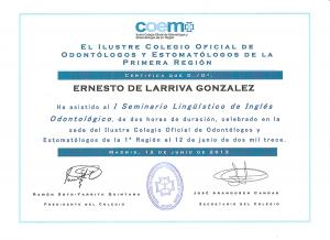 Dr. Ernesto de Larriva González 8